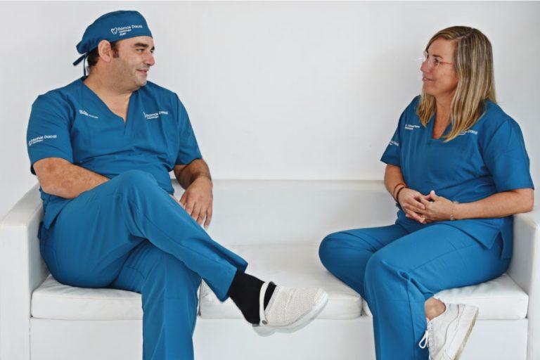 Odontólogos de la clínica dental Ramos Dacal