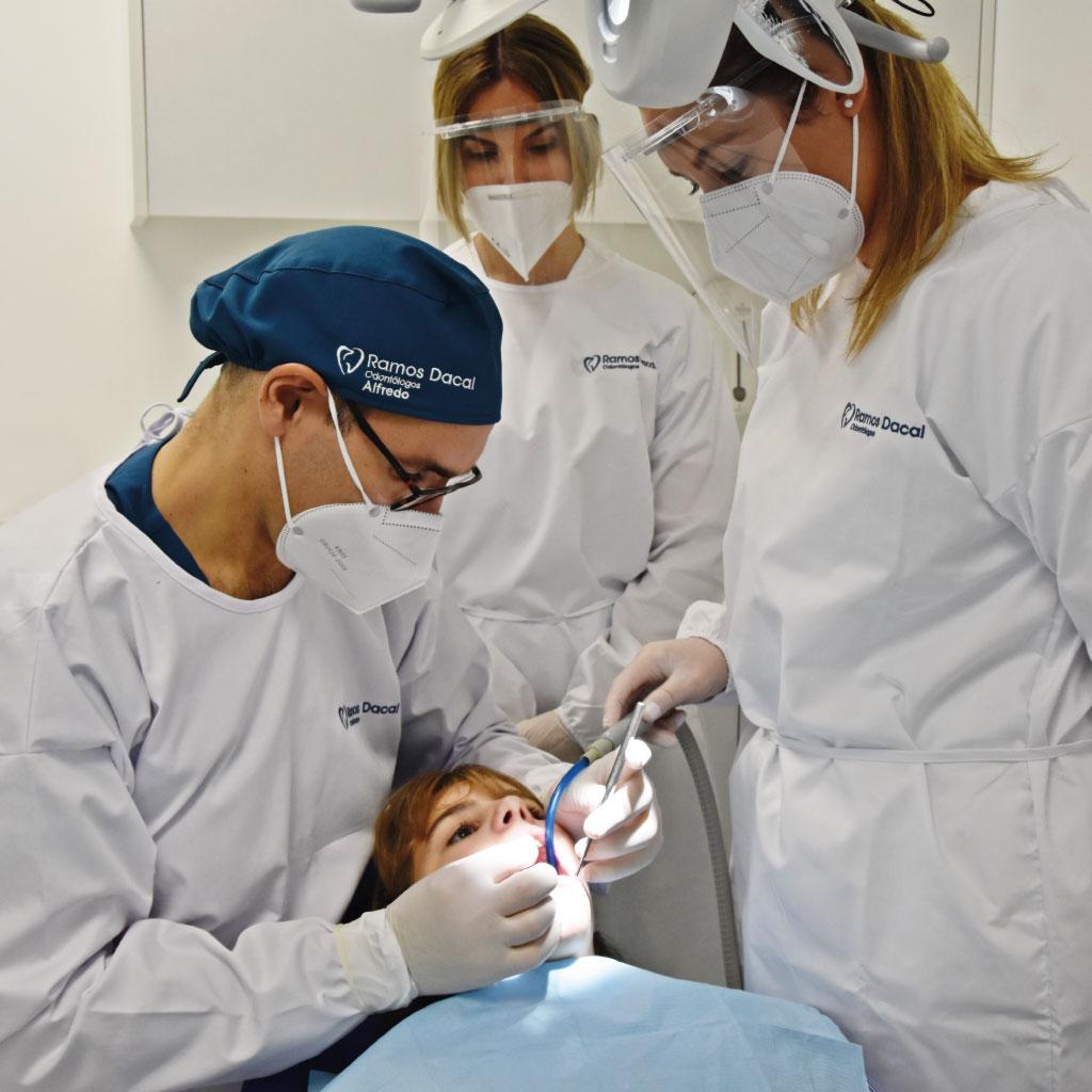 tratamiento en la clínica dental Ramos Dacal de O Porriño